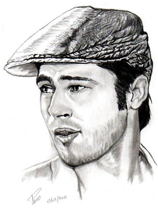 Brad Pitt por paco311